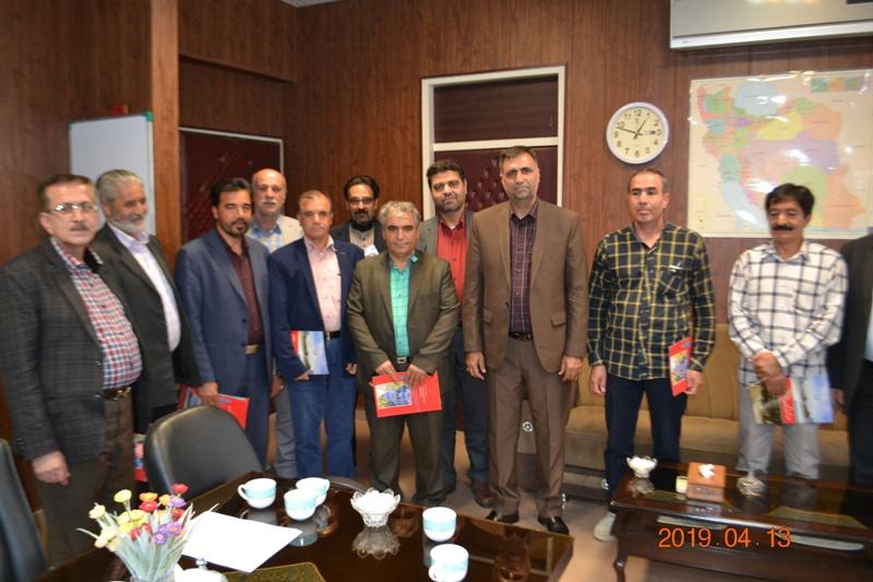 تجلیل ازجانبازان و ایثارگران شهرداری الوند