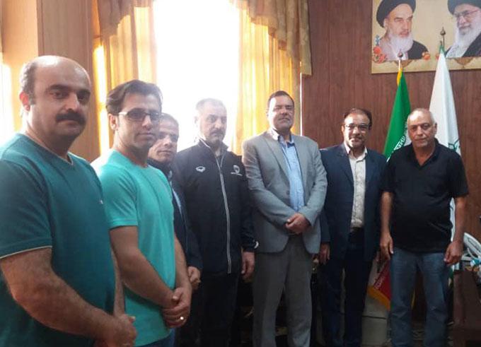 تیم ملی ژیمناستیک عراق  در مجموعه ورزشی امام علی (ع) شهرداری الوند اردو می زند