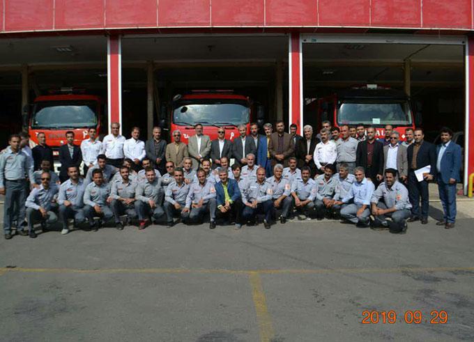 آتش نشانی و خدمات ایمنی الوند مجهزترین؛ به روزترین و آماده ترین سازمان در استان قزوین
